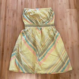 Tube top summer dress